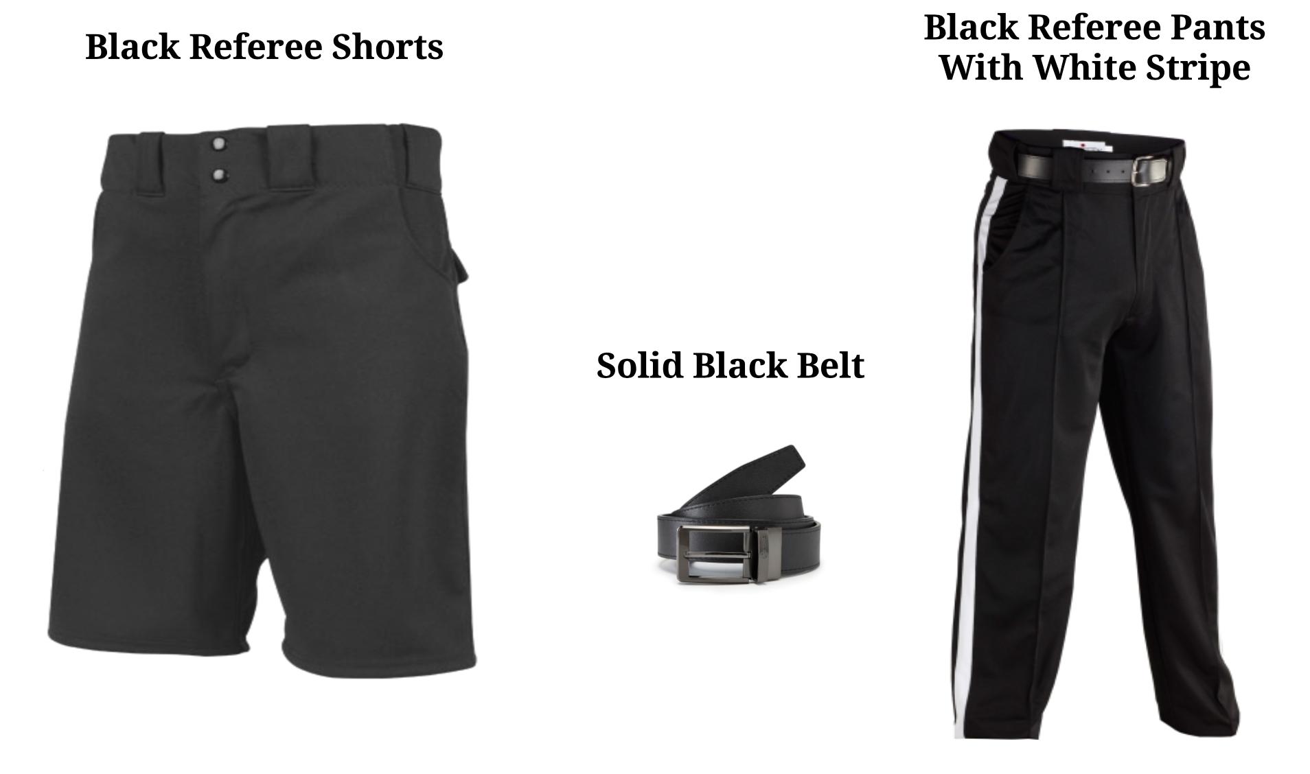 Referee Pants and Belt